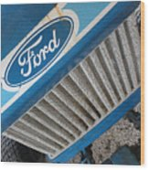 Ford Tuff Wood Print