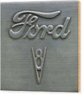 Ford 23 Wood Print