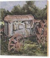 Fordson Model F Wood Print