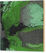 Forest Canopy Wood Print