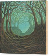 Forest Dream Wood Print