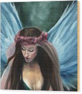 Forest Fairy Queen Wood Print