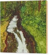 Forest Fall Wood Print
