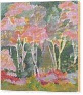 Forest Fantasies Wood Print