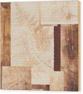 Forest Imprints Wood Print