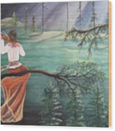 Forest Serenade Wood Print