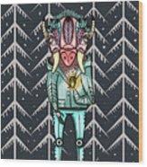 Forest Spirit, Forest Keeper Wood Print