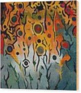 Forest Spirits Wood Print