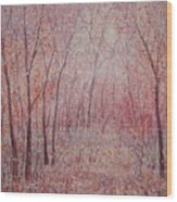 Forest Stillness. Wood Print