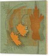 Forever Leaves Wood Print