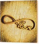 Forever Love Wood Print