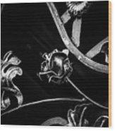 Forged Pattern Wood Print