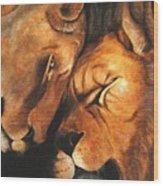 Forgiven Wood Print