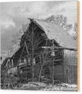Forgotten Wood Print