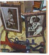Forgotten Ladies Wood Print