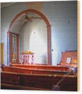Forgotten Ministries Wood Print