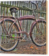 Forgotten Ride 1 Wood Print