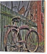 Forgotten Ride 2 Wood Print
