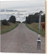 Fork In The Road Wood Print