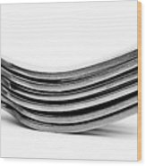 Forks Wood Print
