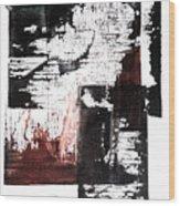 Form Of Memory Wood Print