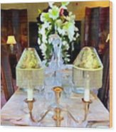 Formal Dining Wood Print