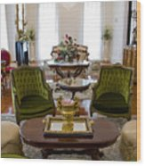 Formal Dining Room Wood Print
