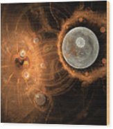 Formation Of New Planets Wood Print