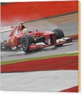 Formula 1 British Grand Prix Wood Print