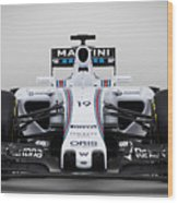 Formula 1 Williams Fw37 Wood Print