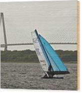 Formula 18 Sailing Cat Big Booty Charleston Sc Wood Print