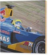 Formula One Racing Car Sauber Petronas Wood Print