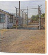 Fort Chaffee Prison Wood Print