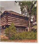 Fort Christmas Florida Wood Print