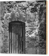 Fort Doorway Wood Print