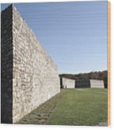 Fort Frederick In Maryland Wood Print