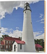 Fort Gratiot Light Wood Print