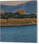 Fort Guvercinada On Canvas Wood Print