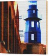 Fort Jefferson Lighthouse Wood Print