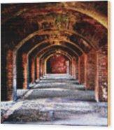 Fort Jefferson Wood Print