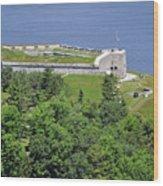 Fort Knox Maine Wood Print