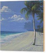 Fort Lauderdale Beach Wood Print