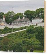 Fort Mackinac Wood Print