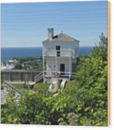 Fort Mackinac West Blockhouse Wood Print