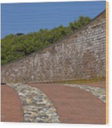 Fort Macon Wood Print