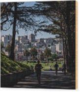 Fort Mason Frame Wood Print