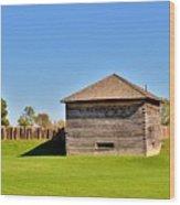 Fort Meigs Wood Print