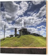 Fort Moultrie Bunker Wood Print