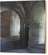 Fort Pickens Corridors Wood Print