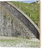 Fort Pickens Stairs Wood Print